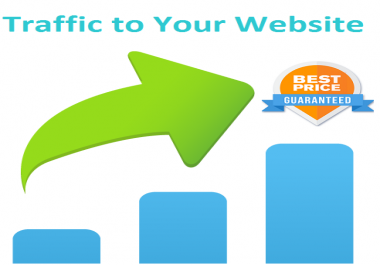 send 20000+ low bounce rate real human traffic from social media