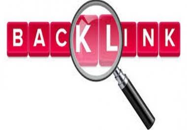 create 43,highPR,backlinkS for you
