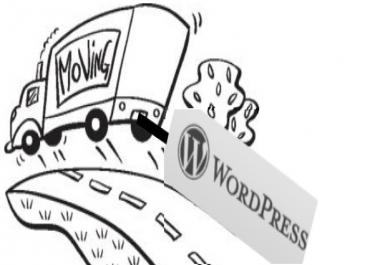 transfer Your Wordpress Site