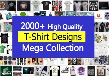 Top 2000 plus HQ  editable T-Shirt design templates