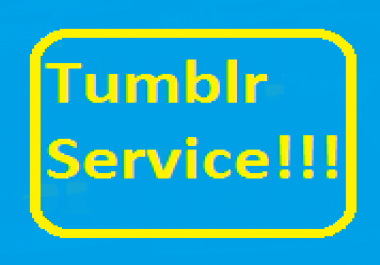 210+ Tumblr Follower/Like/Reblog Or 3 Expired Tumblr PA 28-30 with Backlink