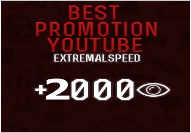2000 legit youtube quaranteed high quality