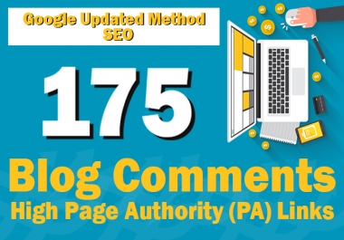 175 Blog Comments on High Page Authority Links