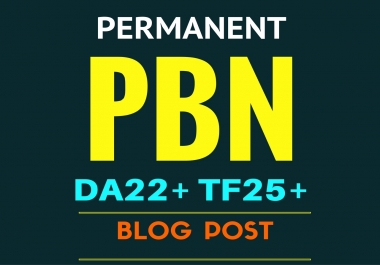 Exclusive Rank Authority 10 PBN blog post DA20+ TF20+ PA30+ for you on my private blog network