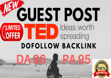Publish Dofollow Guest post On TED DA 96