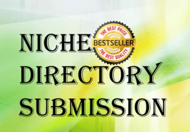 Provide 20TY Niche Directory Submission Manually Pr9 To Pr6