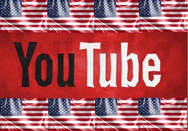 1000+ USA / Country targeted Real Youtube Views