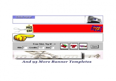 100+ BANNER TEMPLATES (Ready to go templates)