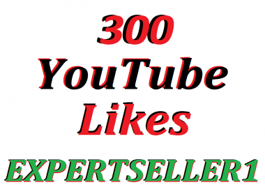Limited Offer 300 YouTube Likes to make Attractive your Video
