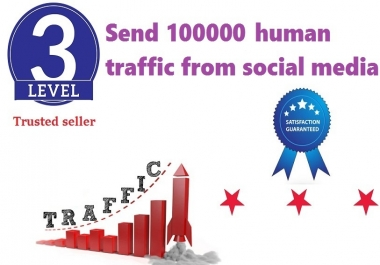 send 100000+ human traffic from google yahoo twitter etc.