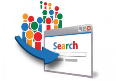 1,000 Organic Google Keyword Targeted Website Traffic Visitors SERP Ranking Service