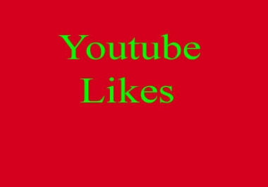 Real and Permanent 100+ Youtube likes in 2 hours