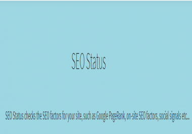 Get Active SEO PDF report with your signature for your clients
