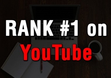 RANK YOUR VIDEO PAGE 1 YOUTUBE+ FULL REFUND +1205 SALE