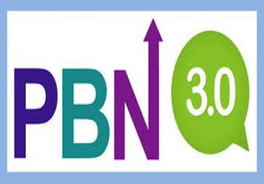 3 Permanent PBN Post DA20+ & TF 20