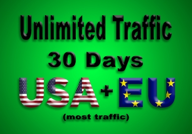 get UNLIMITED Real web traffic