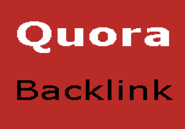Promote your Website with a quality backlink on QUORA
