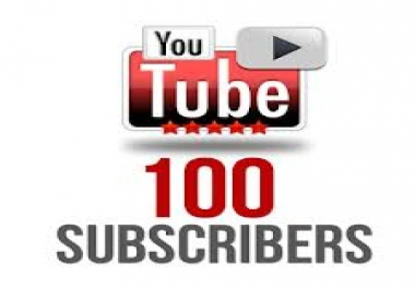 GIVE YOU 100 + YOU-TUBE CHANNEL SUBSCRIBERS