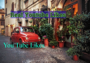 Real permanent 100++ High Quality Human Verified Unique YouTube video Likes