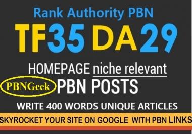 Xtreme 35+TF/CF [ 50 PBN Homepage Posts ]