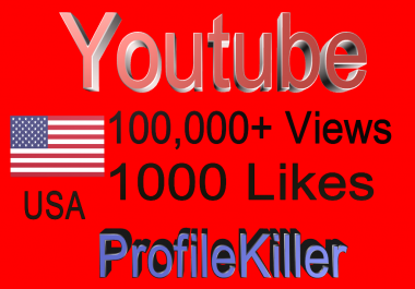 Best Youtube Combo 100K  views and 1000 Genuine Likes