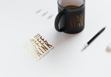 put your logo on a coffee cup