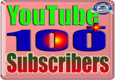 Add for You 80 to 100 Real Subscribers YouTube & Follows Safe & Non Drop
