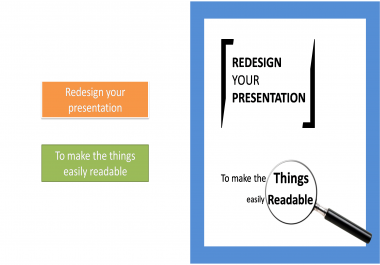 redesign your Corporate presentation