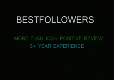 give you 500  USA followers in your account  for $3