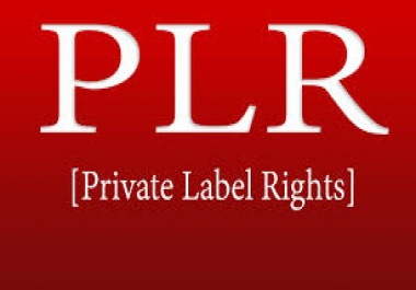 4 million PLR article in various nich with MRR