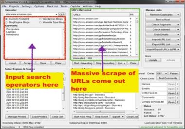 ultimate Footprints for GSA, SEnuke,Scrapebox