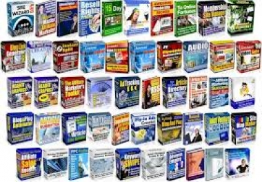 4000 ebooks in more than 2000 NICH  with MRR