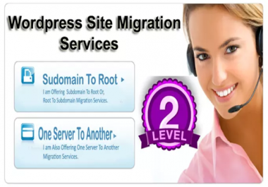 I will Migrate or Move your Wordpress site to new Host or Domain