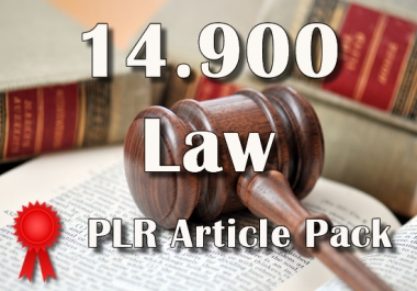 14900 LAW Plr Article Collection Pack