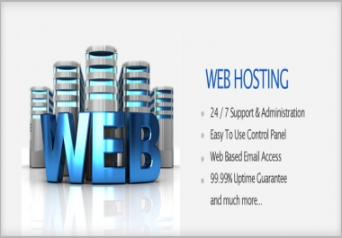 1GB Cheap powerfull Server Cpanel webhosting 24Hour Uptime 99.9%