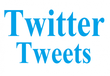 1 tweet from 20 active twitter accounts