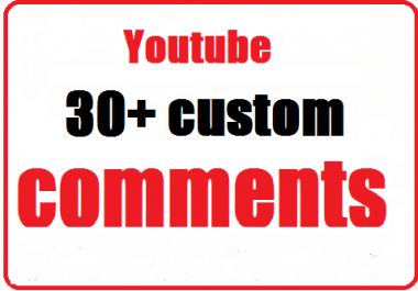 30+ Youtube Custom Comments with profile picture very fast