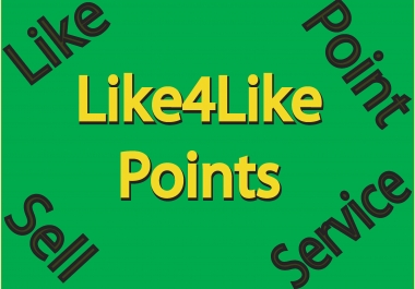 Very Frist Delivary +15k Like4like Points