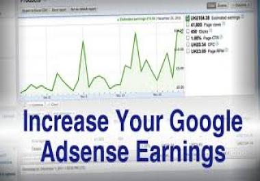 Increase website revenue through traffic