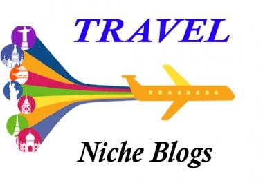 High Quality Travel Niche Permanent PBN Backlink