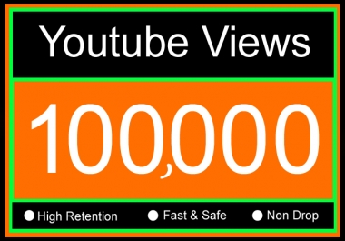 100K Or 100000 Or 100,000 with 100 Youtube Video Likes Or 1 Lakh YouTube Views