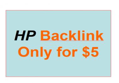 30 HR backlink for your bussiness
