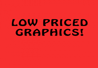 Cheap graphic design- logo, cover art, banners.