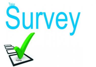 Survey ,Question Answers