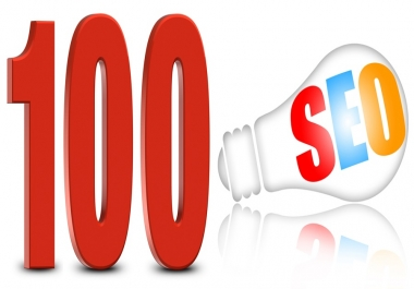 Create 100 High authority backlink for SEO