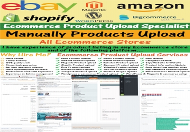 Best products listing on amazon, eBay, Shopify, Magento