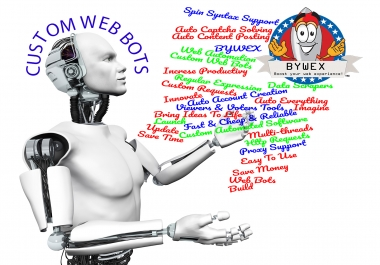 Cheap and Affordable Custom Web Bots , Automating Web tasks, PC Browser Automation