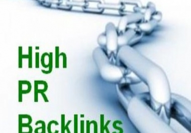 Build manually backlinks 65 Directories PR8 to PR2