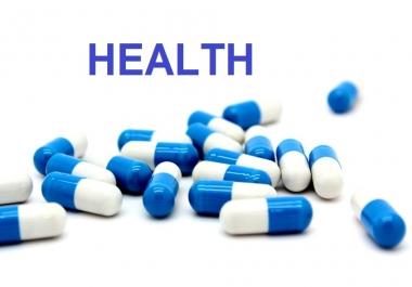 I Will Guest Post On Health Niche Da30 Tf30 Website