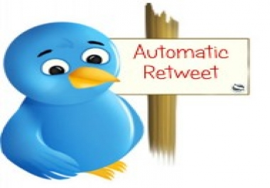 50 auto retweet or auto likes subscription for 30 days